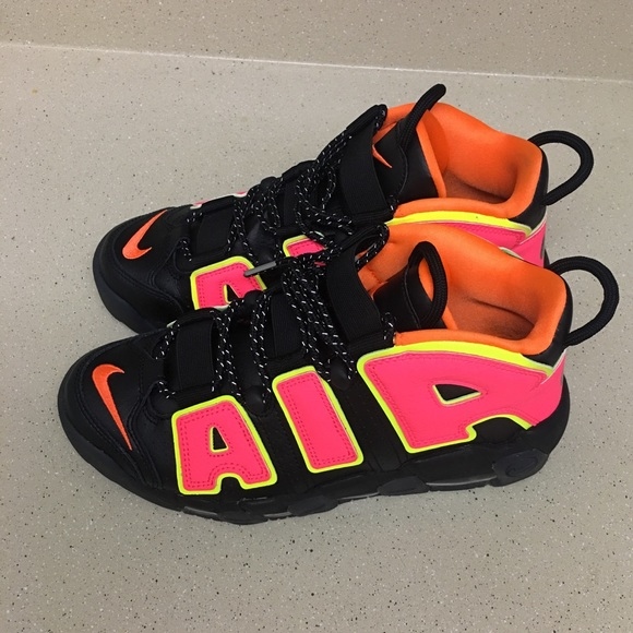 e97cf2b59f Nike Shoes | Womens Air More Uptempo Hot Punch Pippen Sz 85 | Poshmark